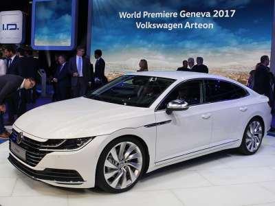 Volkswagen Arteon at Geneva