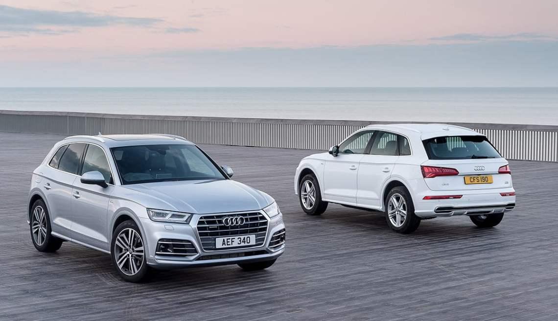 Audi Q5 both versions