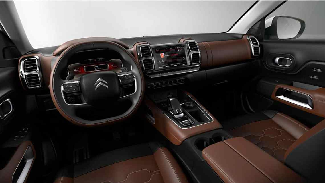 Citroen C5 Aircross interior