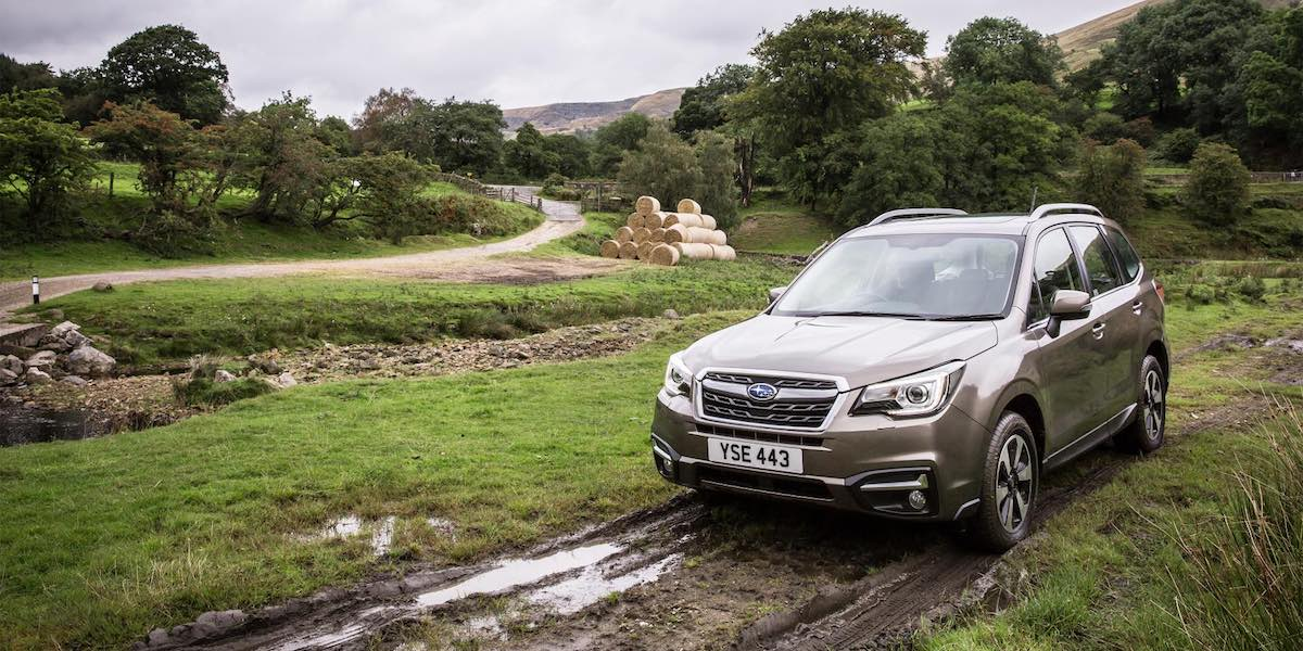 Subaru Forester July 2017