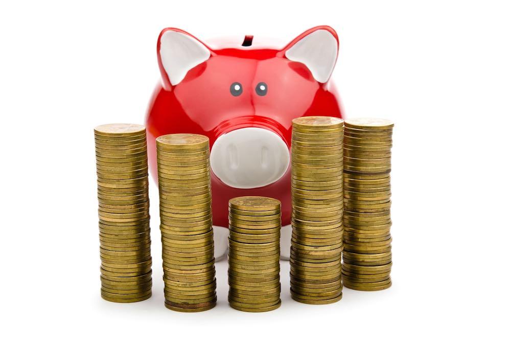 Car finance piggy bank