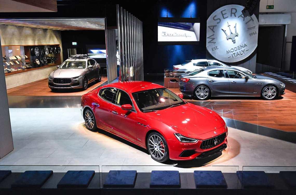 Maserati Frankfurt show The Car Expert