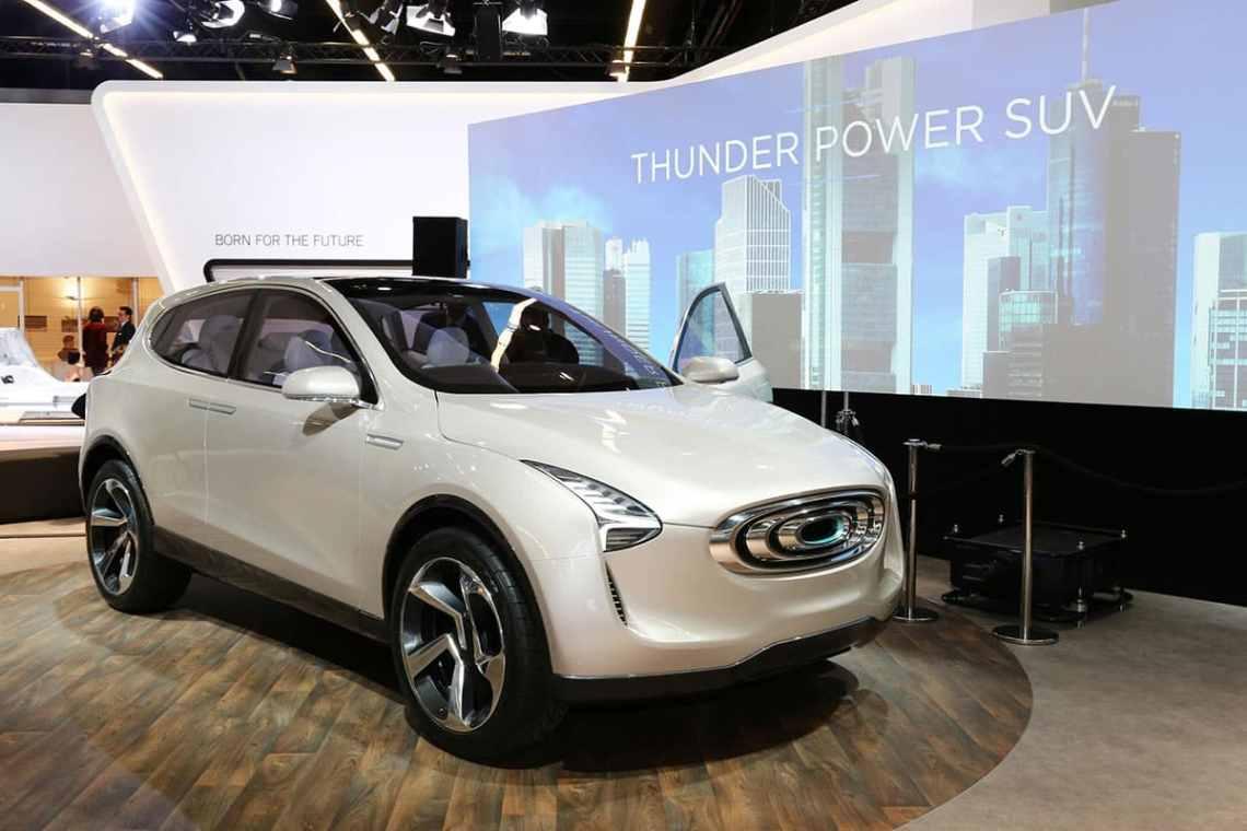 Thunder Power Frankfurt Show The Car Expert