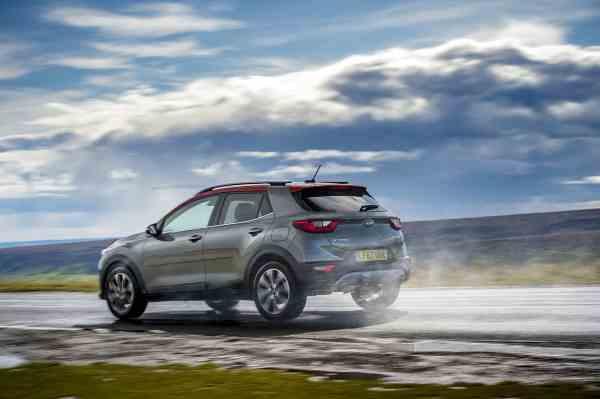Kia Stonic dynamic spray (The Car Expert)