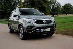 SsangYong Rexton review 2017 | The Car Expert