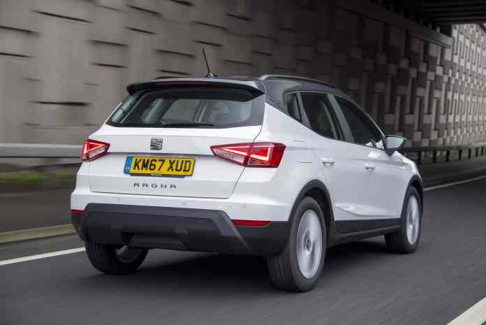 SEAT Arona on the road (The Car Expert)