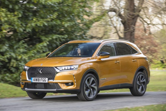 DS 7 Crossback road test 2018   The Car Expert