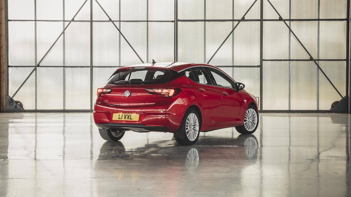 Vauxhall Astra 2019 – exterior rear | The Car Expert