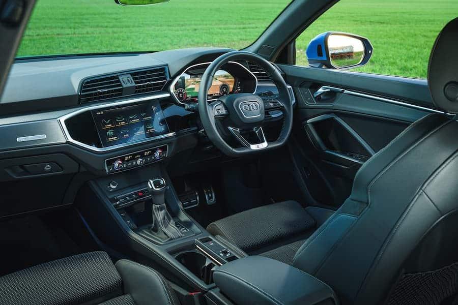 Audi Q3 (2018 - present) interior and dashboard | The Car Expert