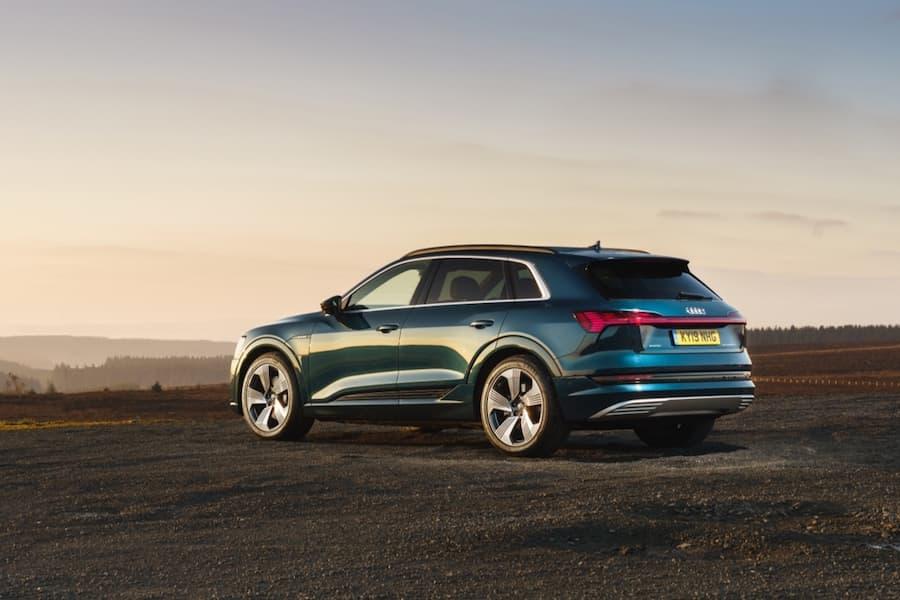 2020 Audi e-tron - rear view | The Car Expert