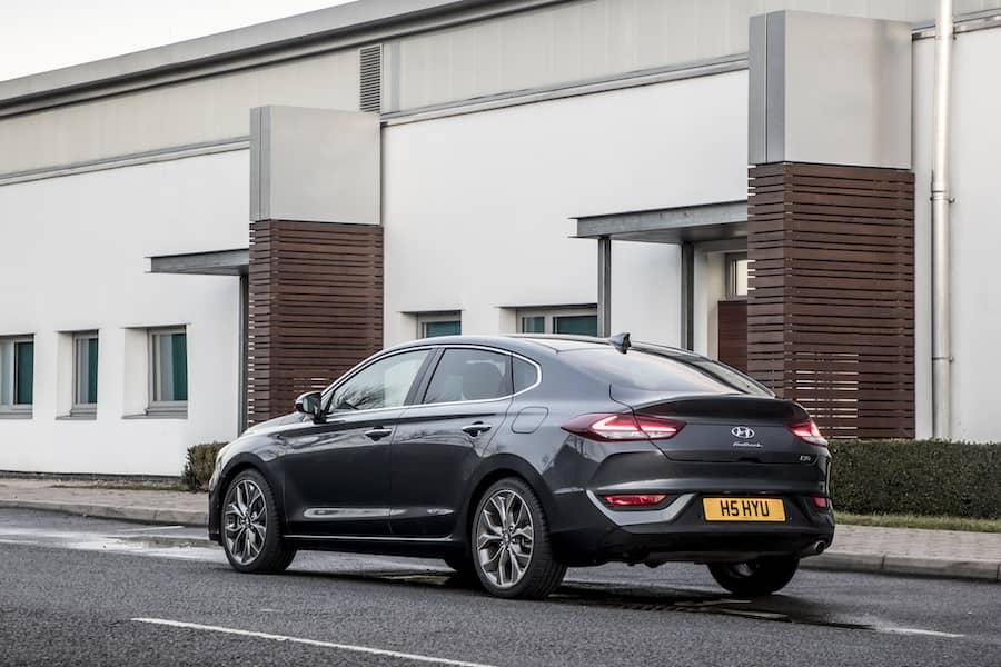 Hyundai i30 Fastback - rear | The Car Expert