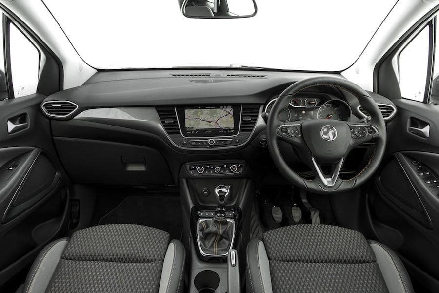 Vauxhall Crossland X (2017) interior and dashboard | The Car Expert