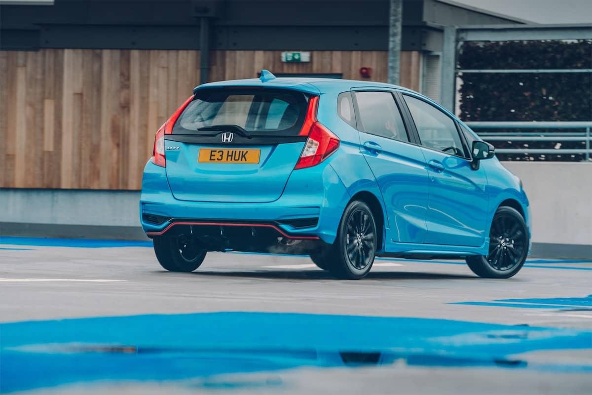 Honda Jazz Sport (2018) - rear view | The Car Expert