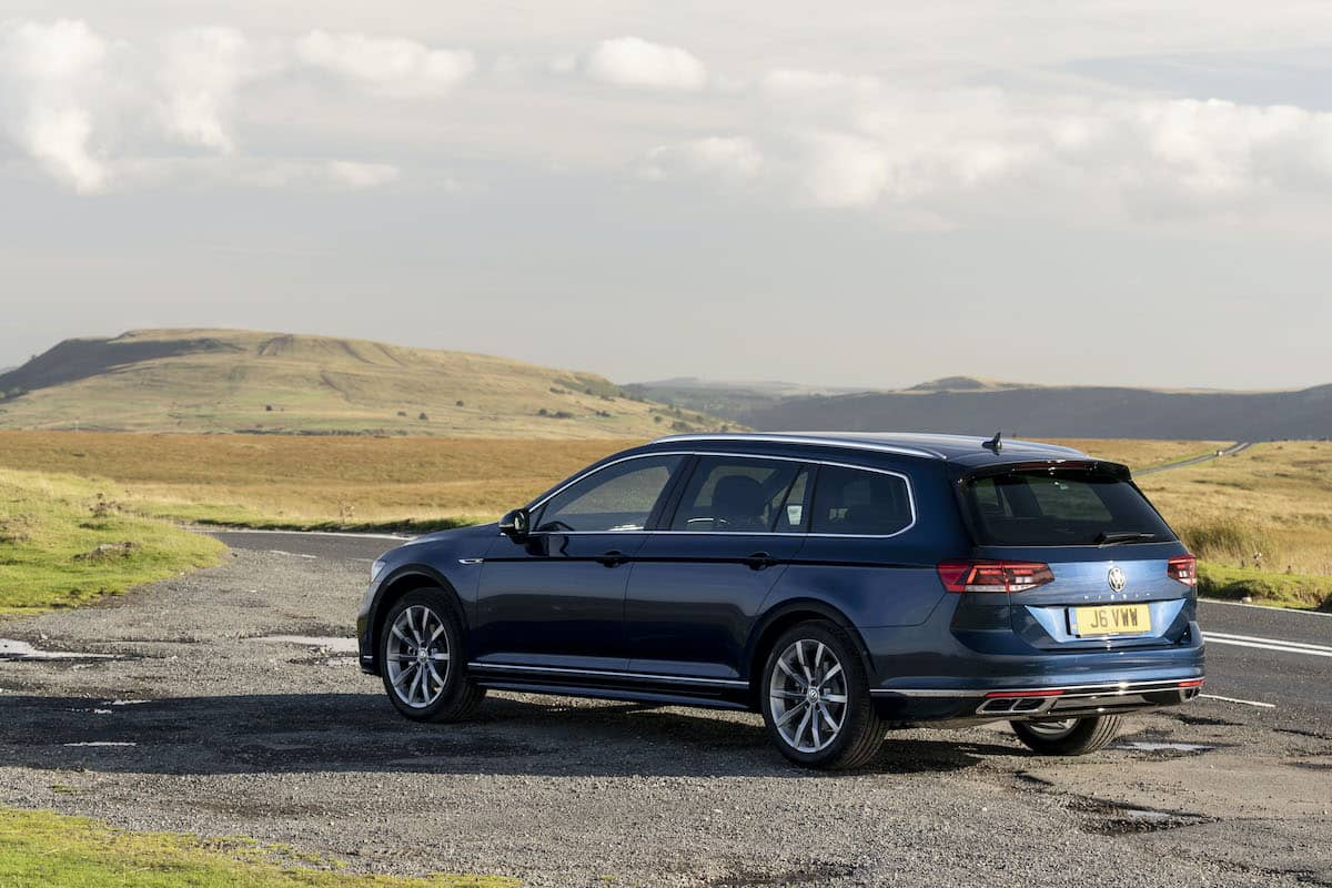 Volkswagen Passat R-Line estate - rear | The Car Expert