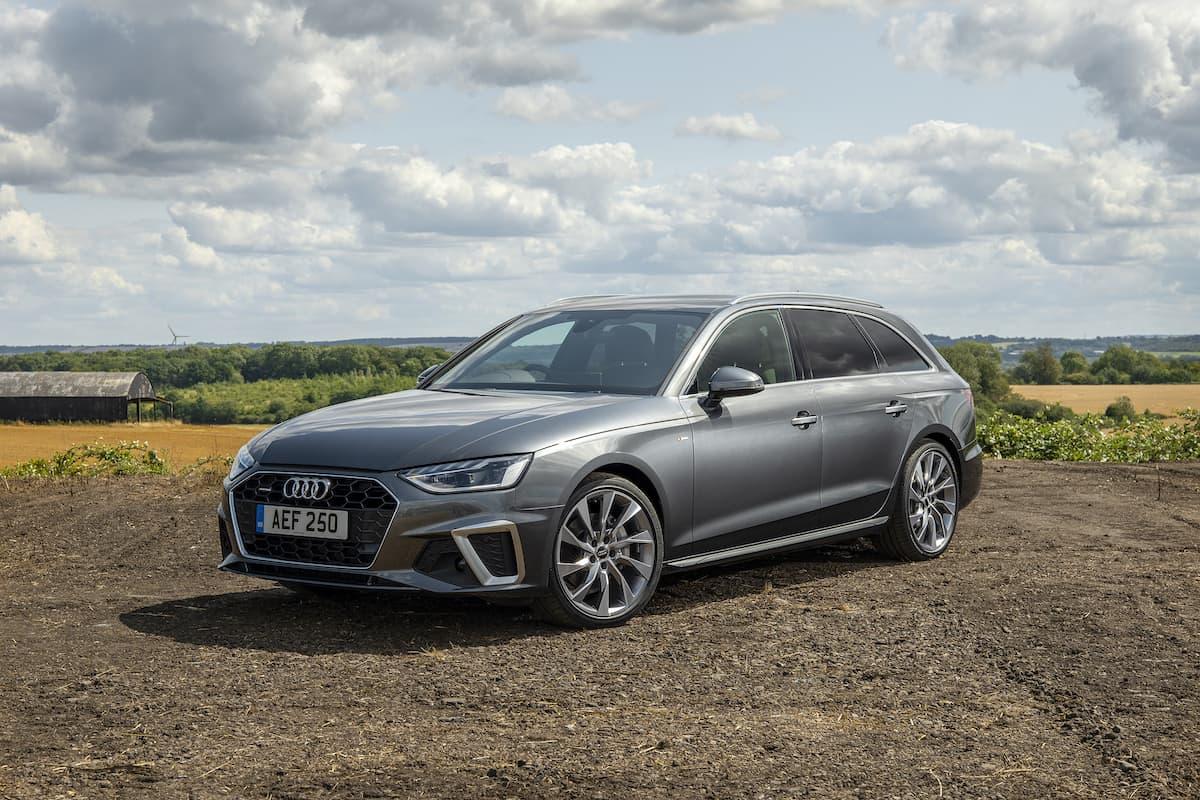 Audi A4 Avant (2019) - front | The Car Expert