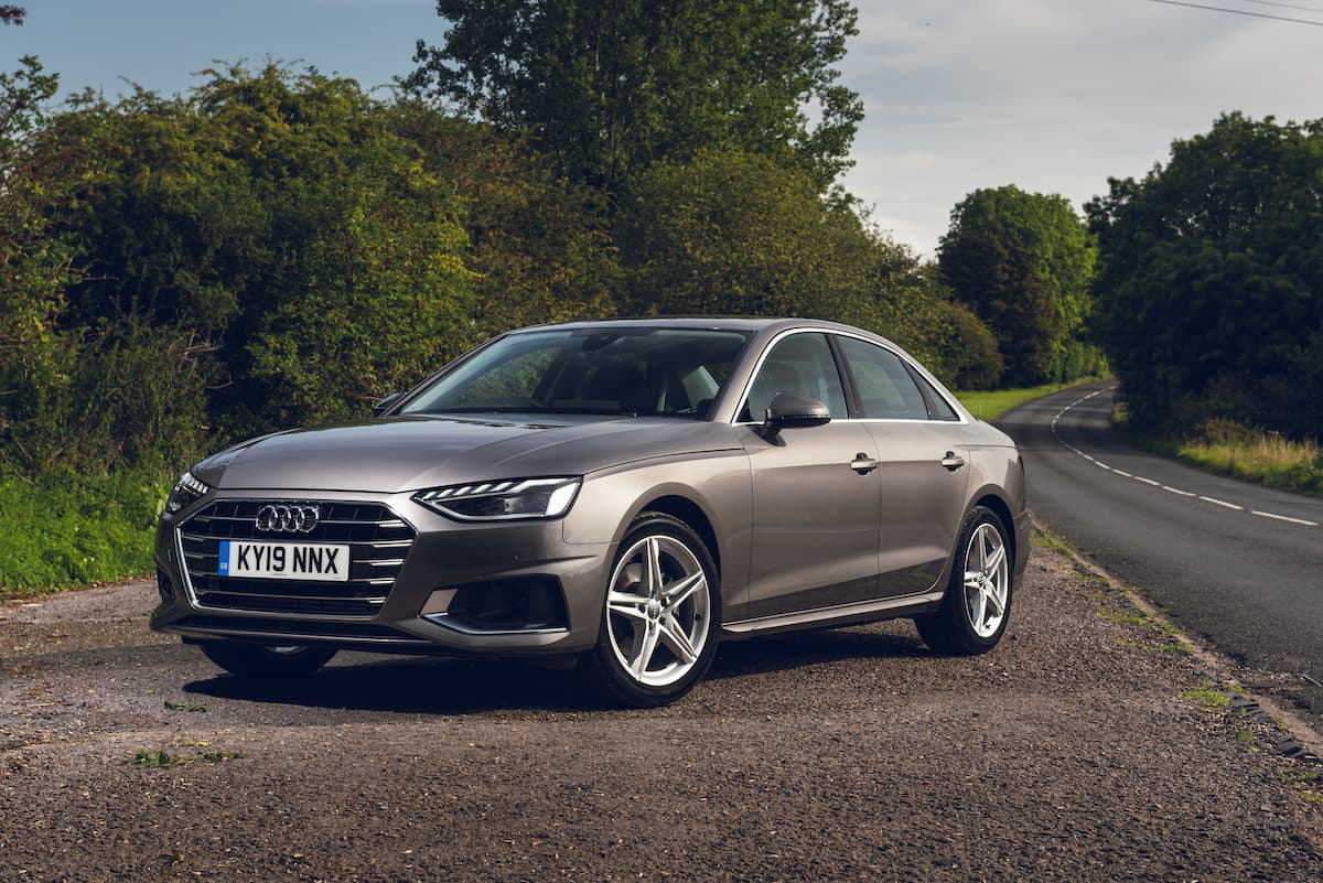 Audi A4 saloon (2019) - front | The Car Expert