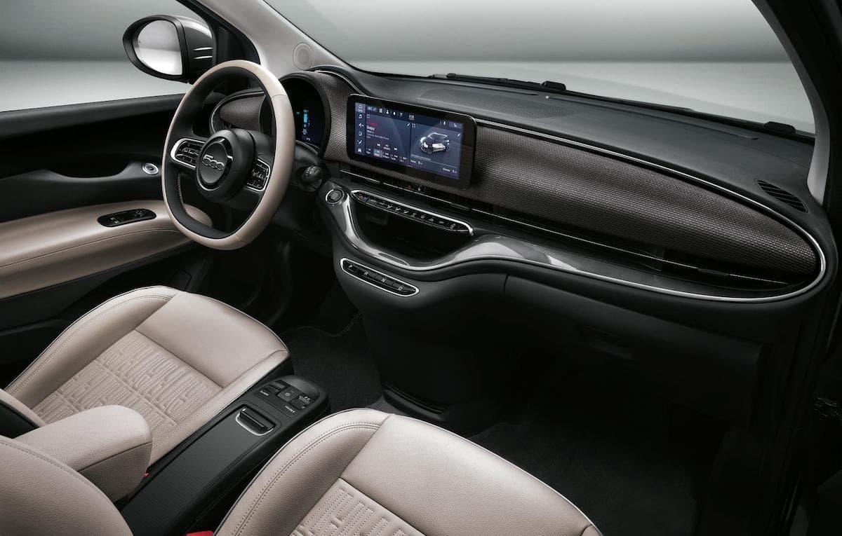2021 Fiat 500 Convertible interior
