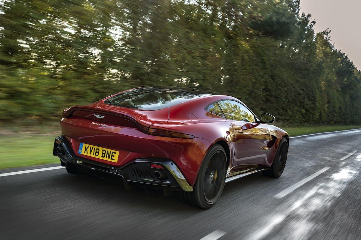 2018 Aston Martin Vantage - rear