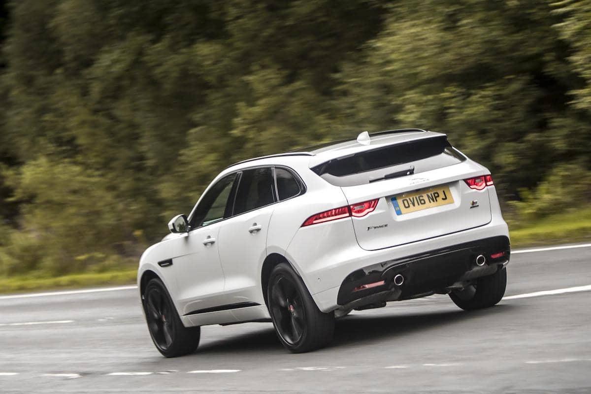 Jaguar F-Pace (2016 onwards) - rear