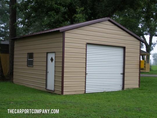 Enclosure Metal Carports The Carport Company