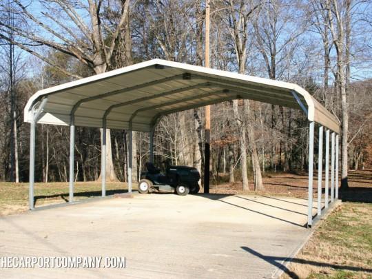 Barn Style Metal Carport The Carport Company
