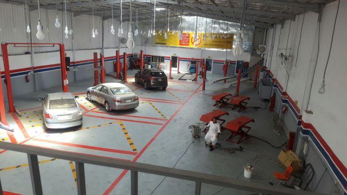 ورشة اصلاح سيارات أمريكية