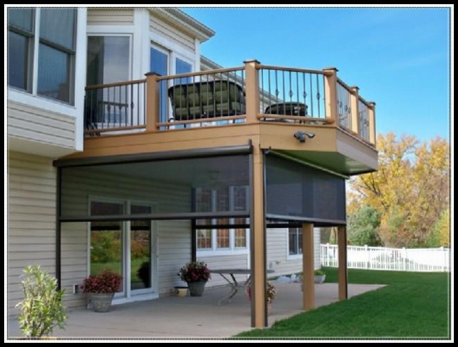 Enclosing Under A Deck Ideas - Decks : Home Decorating ... on Under Deck Patio Ideas id=37584