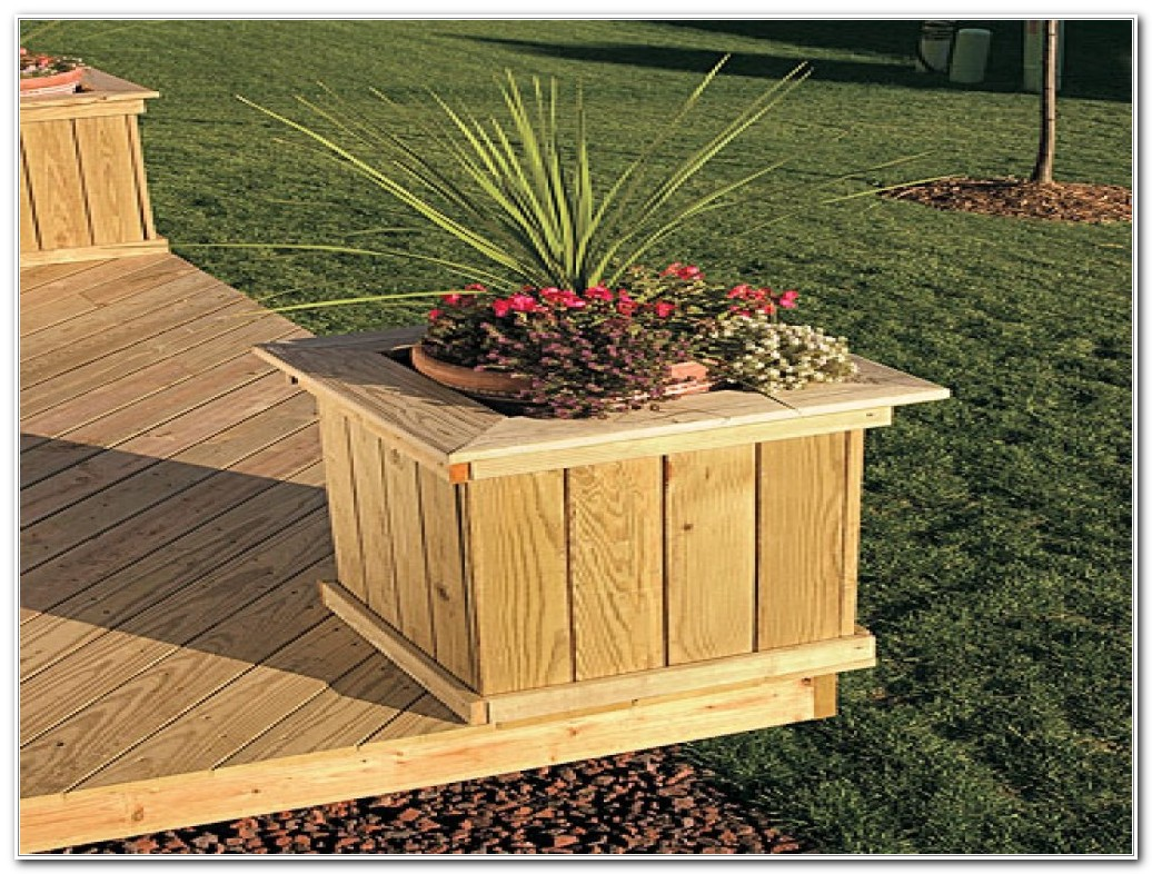 Planter Ideas Diy Decks