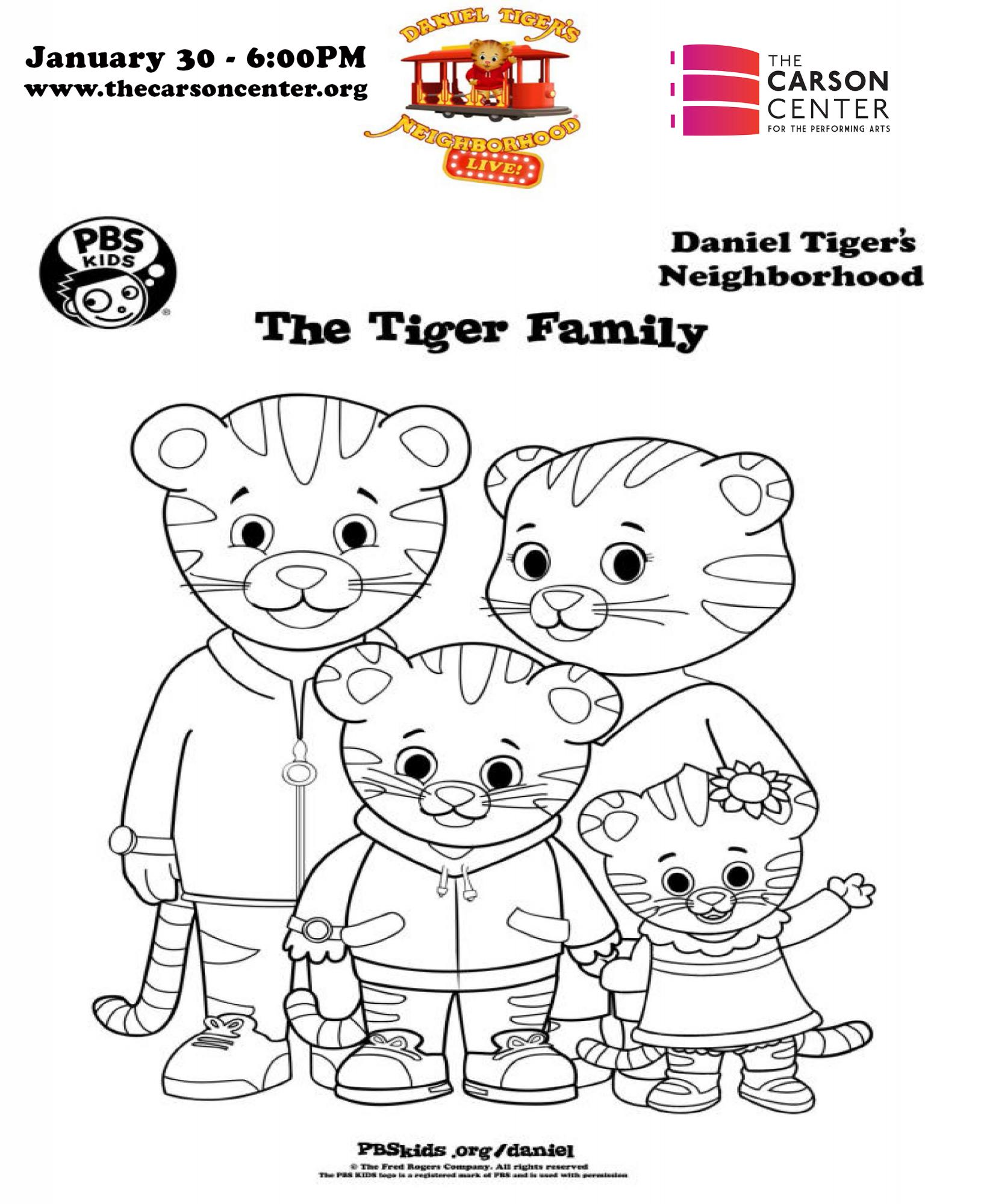 Daniel Tiger S King For A Day The Carson Center