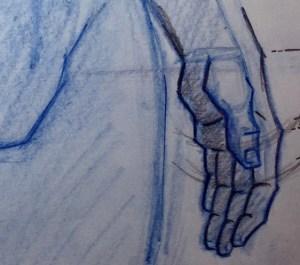 Left Hands Resting