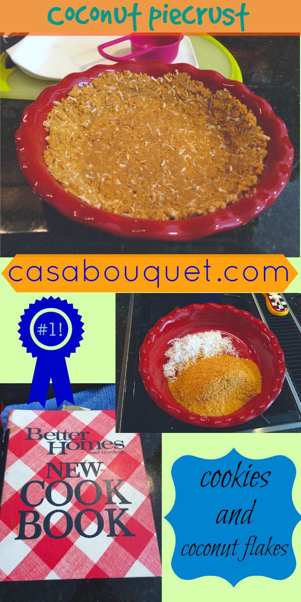 coconut piecrust recipe