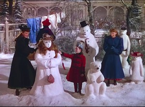 Meet Me in St. Louis (1944) stars Judy Garland spending 1903 getting ready for the Louisiana Purchase Exposition. Lisa's Home Bijou classic film holidays!