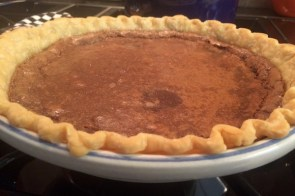 Chocolate chess pie – a Southern classic