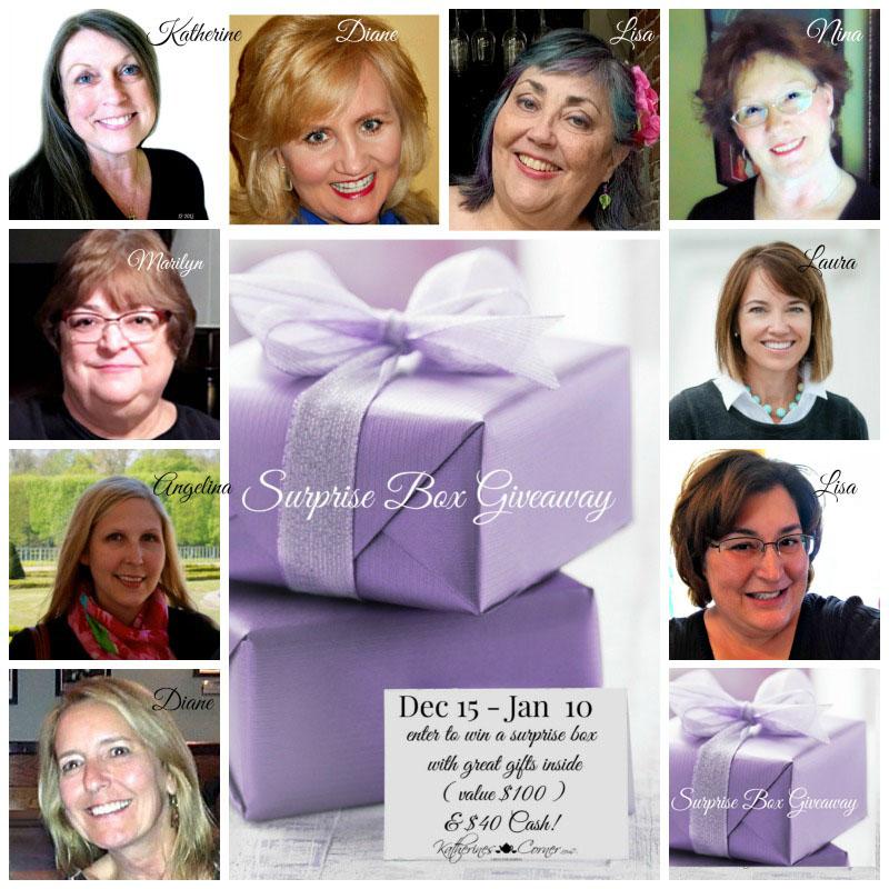 surprise box giveaway hostesses