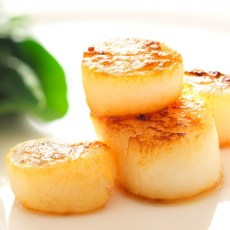 Pan Fried Brixham Scallops