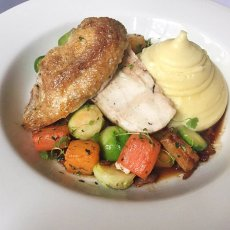 Chicken with Root Vegetables Recipe
