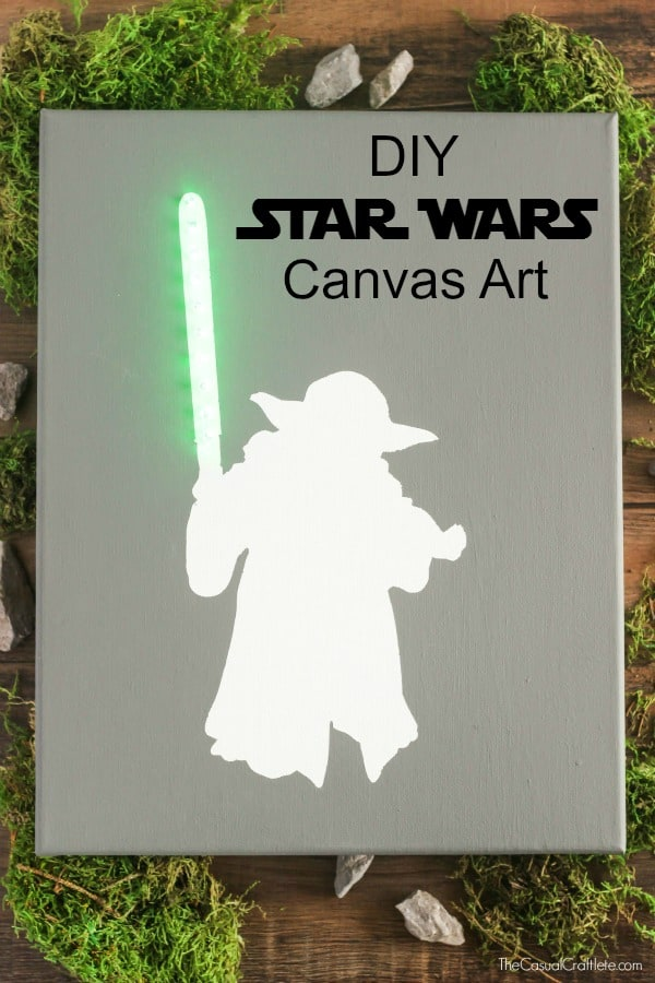 Katie Casual Craftlete DIY-Star-Wars-Canvas-Art