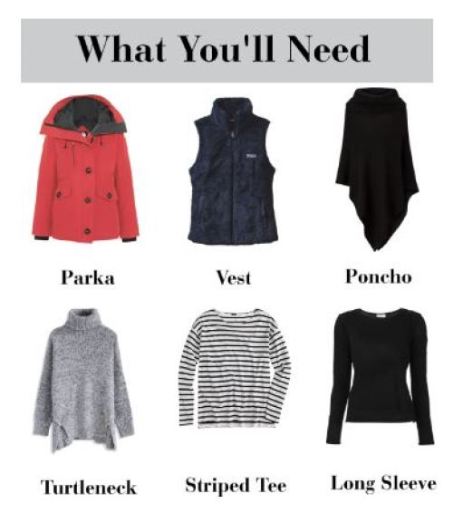 how to pack for cold weather in a carry on