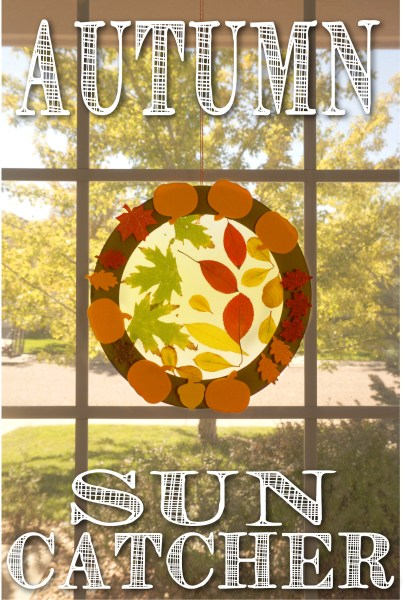 Autumn Leaves Sun Catcher