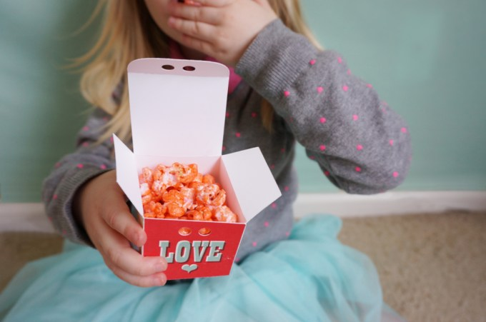 Colorful Valentines Day Kettle Corn - 11