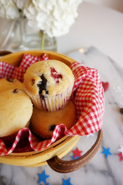 Red White and Blue Muffins - 12 of 13