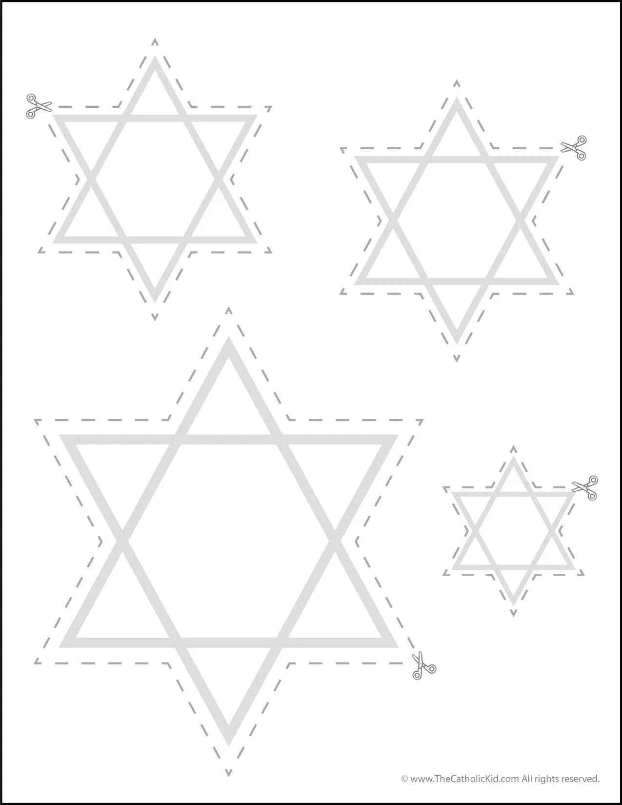 Catholic Scissor Simple Practice Cutting Worksheet