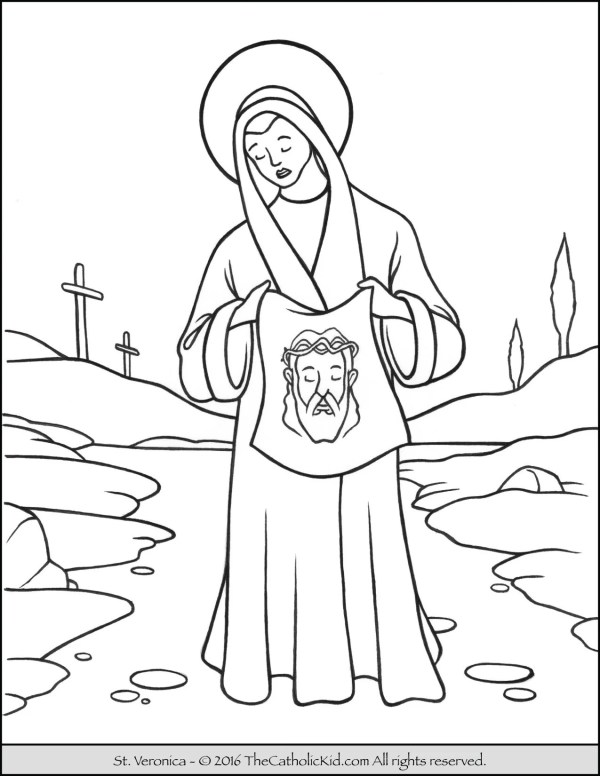 saint coloring pages # 10
