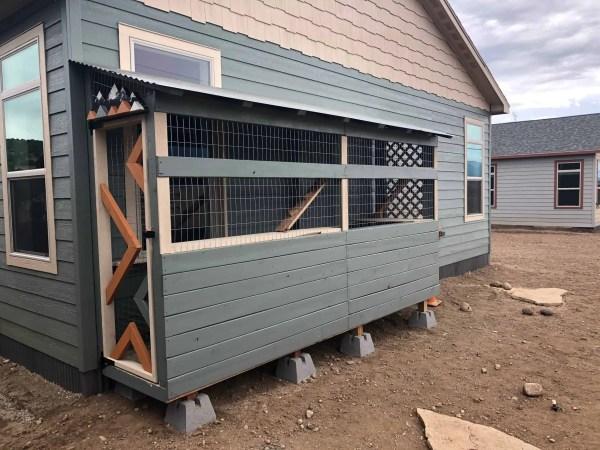 farmhouse catio custom cat enclosure