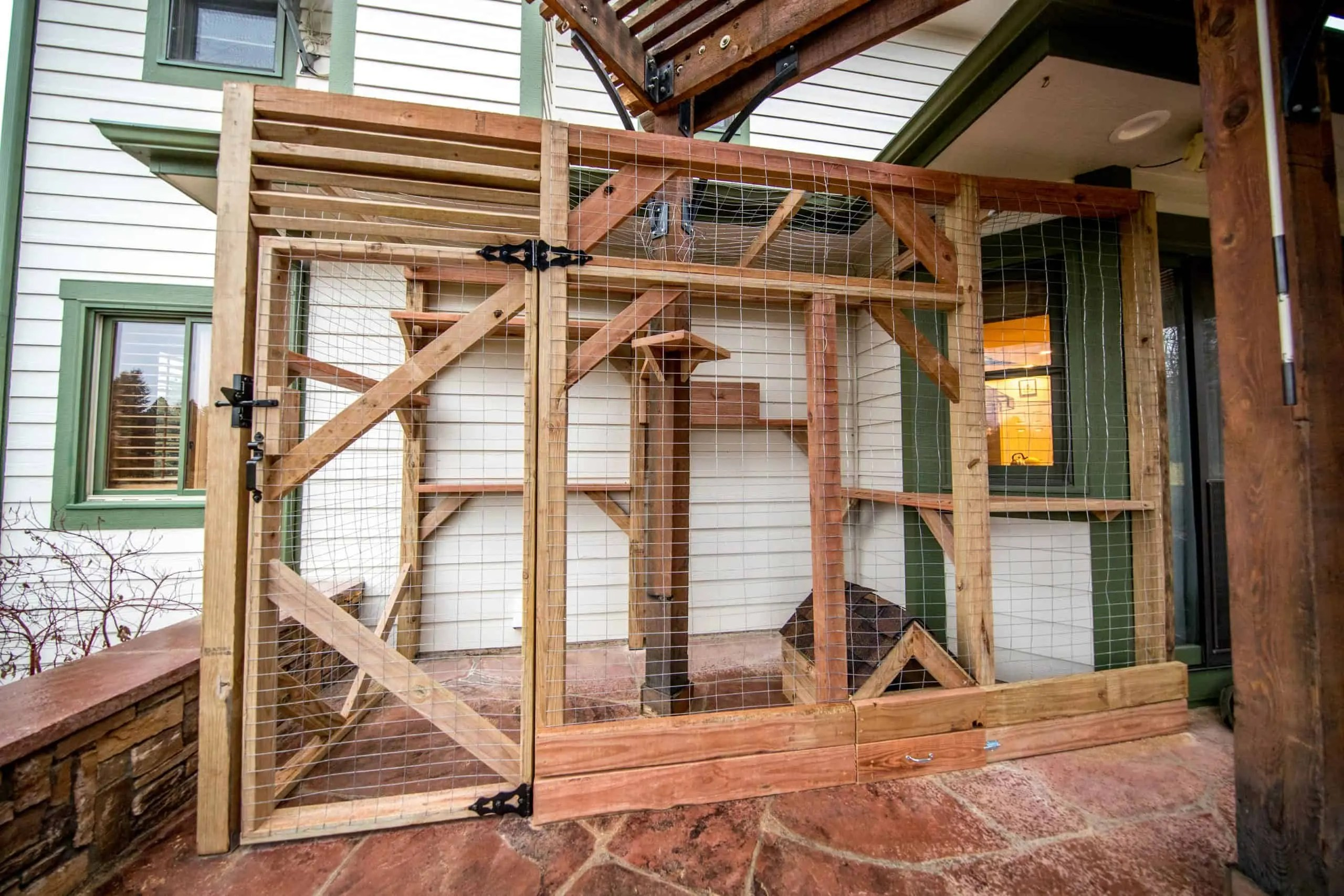 after image of custom catio