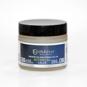 Spartan 900mg CBD CBG Muscle Relief Salve