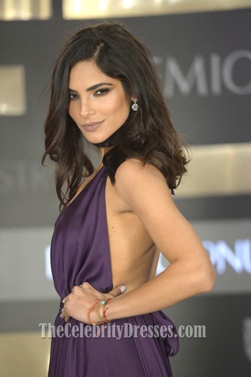 Alejandra Espinoza 2016 Premio Lo Nuestro Sexy Purple