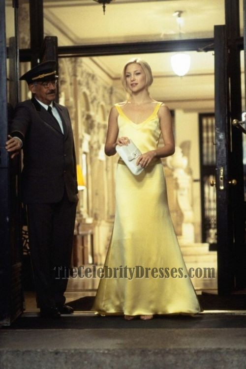 Kate Hudson Yellow Evening Prom Dress In How To Lose A Guy