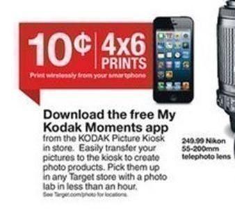 target 40 free 4x6 photo prints the centsable shoppin