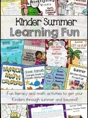 Educents: 10% off Purchase Code {Kindergarten Summer Fun Curriculum Bundle Over 70% OFF}